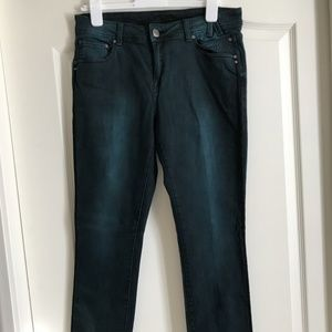 LAST CHANCE! Cartise teal jeans - Size 8 - LUXURY